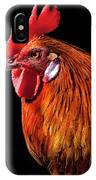 Rooster Pride IPhone Case