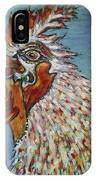 Rooster Visit IPhone Case