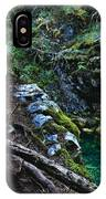Rooted In Emerald  IPhone Case