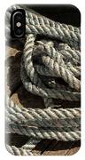 Rope On The Dock IPhone Case