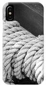 Ropes And Pulleys IPhone Case