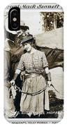 Roping Her Romeo 1919 IPhone Case