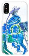 Roping Horse IPhone Case