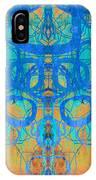 Rorschach Test Art Orange IPhone Case