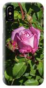 Rose And Bud IPhone Case