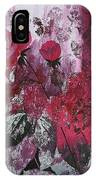 Rose Burst IPhone Case