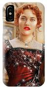 Rose From Titanic IPhone Case