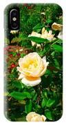 Rose Gardens IPhone Case