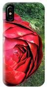 Rose Sculpture IPhone Case