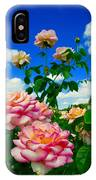 Rose To The Sky IPhone Case