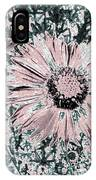 Rose Wine Daisies IPhone Case