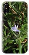 Rosemary Flower IPhone Case