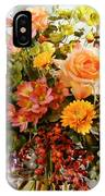 Roses And  Flowers  IPhone Case