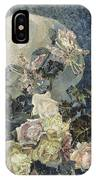 Roses And Orchids IPhone Case