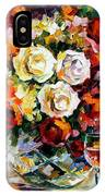 Roses And Wine IPhone Case