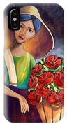 Roses Are Ref IPhone Case