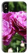 Roses Art Rose Garden Pink Purple Floral Prints Baslee Troutman IPhone Case