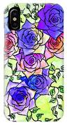 Roses Garden IPhone Case