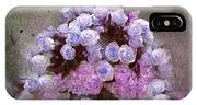 Roses Lilac And Shabby Pink IPhone Case
