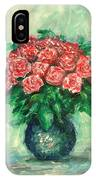 Roses Oil Painting  IPhone Case