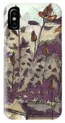 Roses On Hill IPhone Case