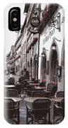 Rothenburg Cafe - Digital IPhone Case
