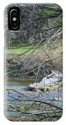 Rough River At Times  IPhone Case