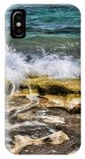 Rough Seas At Blowing Rock IPhone Case