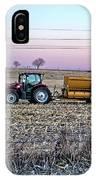 Round Baler IPhone Case