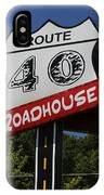 Route 40 Roadhouse IPhone Case