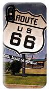 Route 66 Museum - Impressions IPhone Case