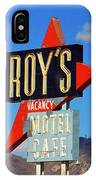 Route 66 - Roy's Of Amboy California IPhone Case