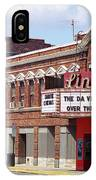 Route 66 Theater IPhone Case