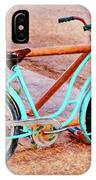 Route 66 Vintage Bicycle IPhone Case