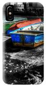 Row Boats At Mudeford IPhone Case