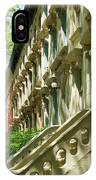 Row Houses In White IPhone Case