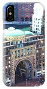 Rowes Wharf Building IPhone Case