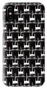 Rows And Rows Of Anonymous Faceless People IPhone Case