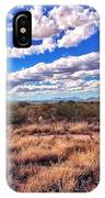 Rows Of Clouds Over Sonoran Desert IPhone Case