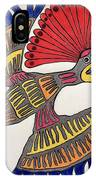 Royal Flycatcher- Mayan 2 IPhone Case