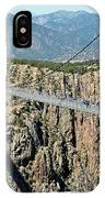 Royal Gorge Bridge In Summer IPhone Case