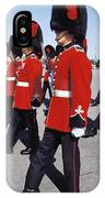 Royal Guards In Ottawa IPhone Case