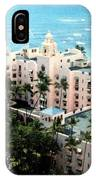 Royal Hawaiian Hotel  IPhone Case