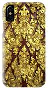 Royal Palace Gilded Door 02 IPhone Case