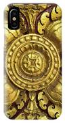 Royal Palace Gilded Door 04 IPhone Case