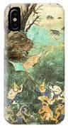Royal Palace Ramayana 15 IPhone Case