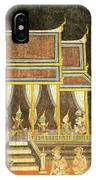 Royal Palace Ramayana 18 IPhone Case