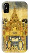 Royal Palace Ramayana 20 IPhone Case