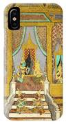 Royal Palace Ramayana 21 IPhone Case