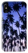 Royal Palm Grove IPhone Case